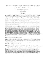 Mike McNamara Oral History Interview