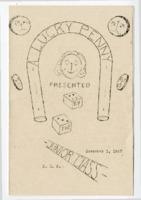 "1947 Edwardsville High School Program For ""A Lucky Penny"""
