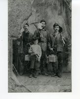 Portrait of Coal miners