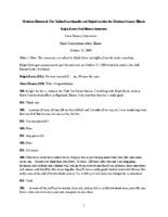 Ralph Korte Oral History