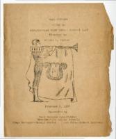 Program for the 1937 Edwardsville High School Band Concert
