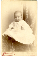 Photograph of an infant child