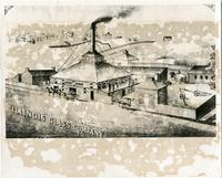 Hand Drawn Postcard of Illinois Glass Company