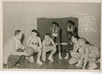 1948 Edwardsville High School  Basketball Team Photo