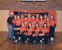 Photograph of the 1995 Women's Tiger Softball Team