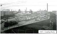 1947 Truck Loading Racks