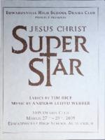 "2009 Program for Edwardsville High School's Performance of ""Jesus Christ Superstar"""