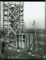 Re-Run Unit  during the 1917-1918 Construction of the Wood River Refinery