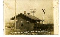 Clover Leaf Train Station at Glen Carbon