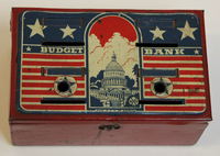 1940s Budget Bank Toy Made by Marx Toys