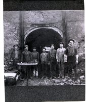 Employees of the St. Louis Press Brick Yard workers