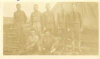 Group at Camp Dix, NJ during WWI
