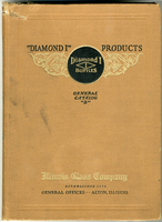 """Diamond I"" Products Catalog for the Illinois Glass Company"