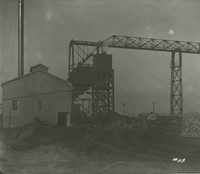 Boiler House Coal and Ash handling system   during the 1917-1918 Construction of the Wood River Refinery