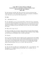 "William ""Bill"" Liden Oral History"