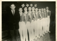 1969 Edwardsville High School Men's Gymnastics Team, 1st Place District Champions