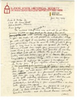 Letter to Dick H. Mudge, Jr concerning the preservation of a barn on his property, 1973