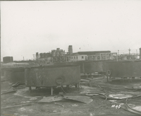 Re-Run Bench Order Receiving Tank  during the 1917-1918 Construction of the Wood River Refinery