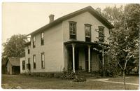 Photograph of the home of E.W. Mudge, Circa 1885 - 1932