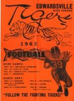1963 Edwardsville High Football program