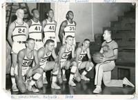 1960-61 Edwardsville High School Basketball Team