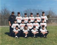 Photograph of the 1996 Women's Tiger Softball Team