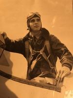 World War II Pilot Hank Mayhall Jr. in 1943
