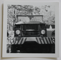 Gas Tanker Driven by Bethalto Resident Everett Jett in West Germany in the 1960s