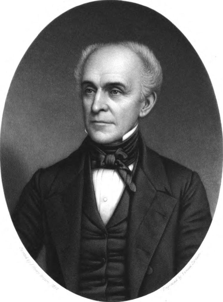 Portrait of Edward Coles
