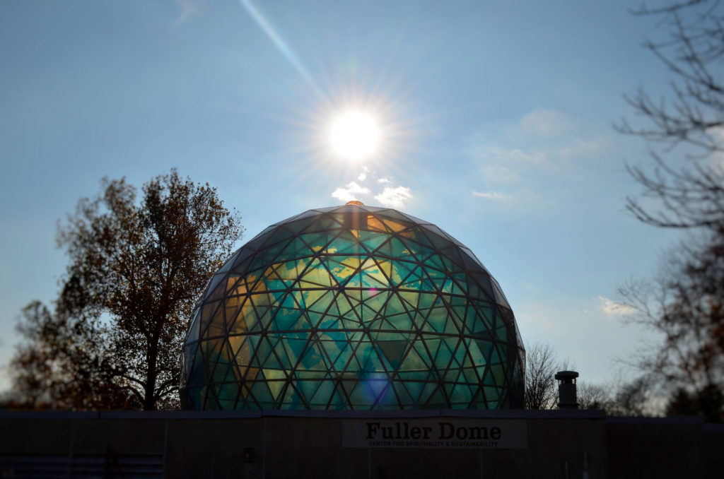 Photograph of the Fuller Dome in 2016